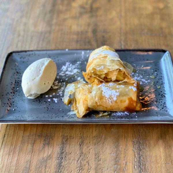 Tarta de manzana Caníbal